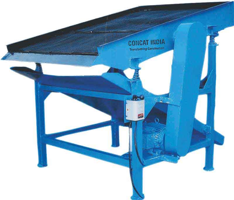 Concat Vibrating Sand Screening Machine