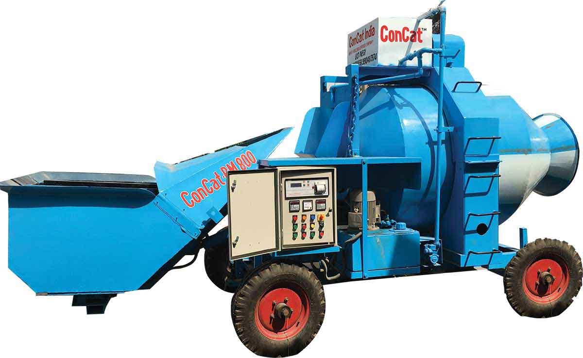 Concrete Mini Mobile Batching Concat Plant
