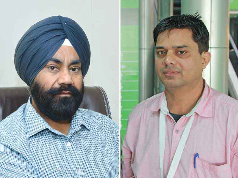 Gurvinder Singh,MD and S.A.David,CEO - VMT Industries