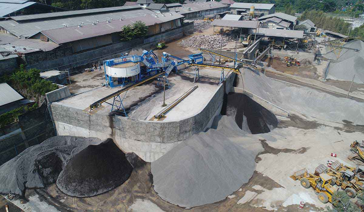 CDE Asia's Manufactured Sand Processing Plants