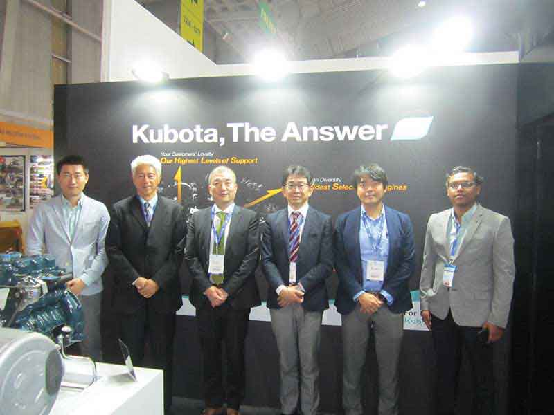 Kubota to build expertise in compact engines
