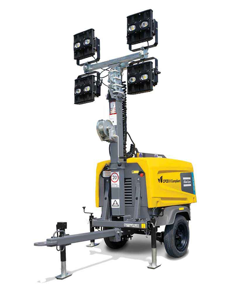 Light Towers from Atlas Copco