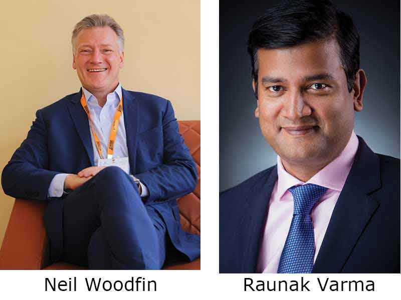 Neil Woodfin, VP AMEA and CE Global Alliances, CNHI International SA, and Raunak Varma, Managing Director, CNH Industrial (India)
