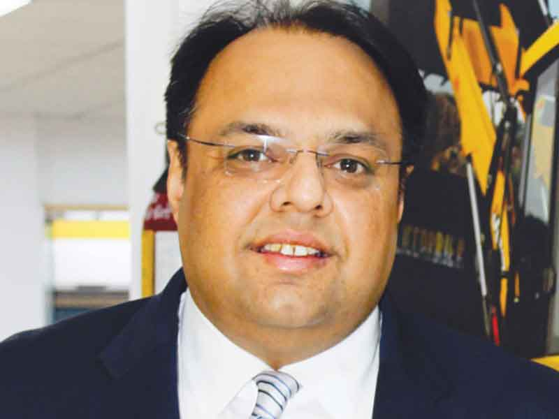 Jasmeet Singh, Associate Vice President, Corporate Communica- tions and Corporate Relations, JCB India