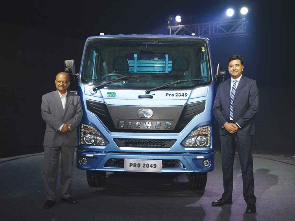 Eicher Trucks and Buses Unveils India's first BS-VI CV Range; Expands Light Duty Trucks Portfolio