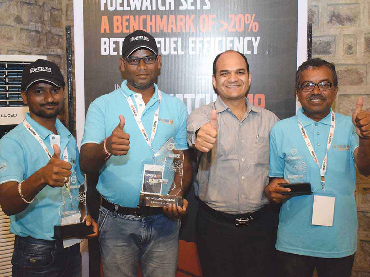 Volvo Trucks India leads the way for higher fuel efficiency with the India Fuelwatch 2019 Championship