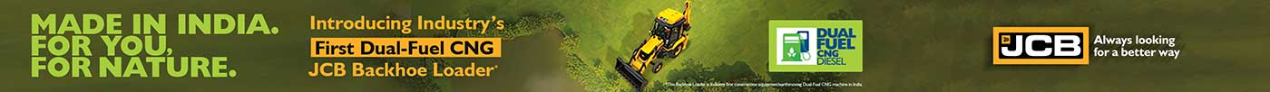 First Dual-Fuel CNG JCB Backhoe Loader