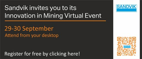 Sandvik Invites you to its Innovation in Mining Virtual Event'