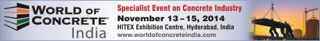 World of Concrete India 2014