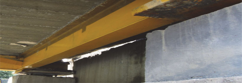 Placement of Cross Girder over Bearing Plate