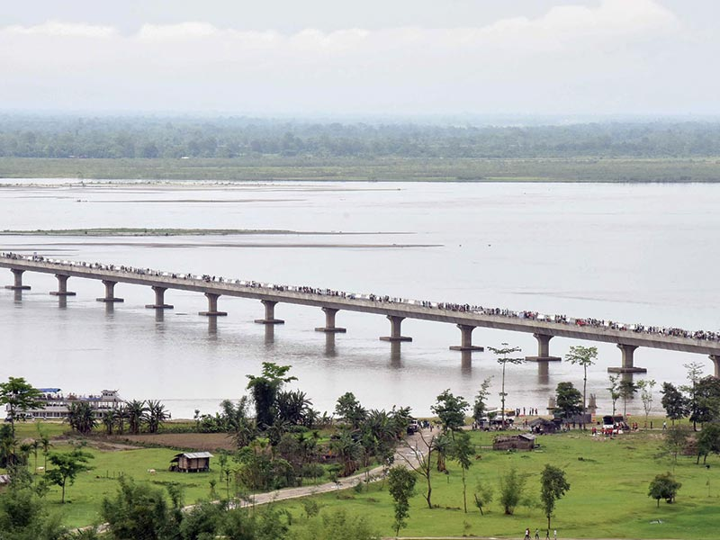 Dhola Sadiya - India's Longest River Bridge
