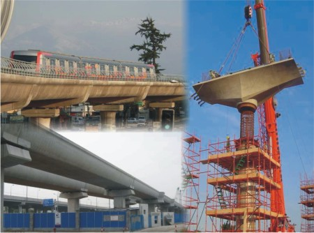 Longer and Longer Concrete Viaducts for Transportation Growing Needs