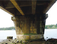 Bridge in Central Kerala