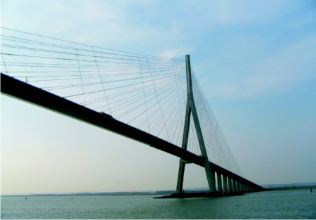 Longest Span Cable Stayed Bridge
