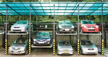 R R Parkon-Multi-Level car Parking Systems
