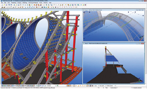 Tekla Structures In Practice Castle House Tower