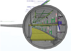 Tunnel With Tekla