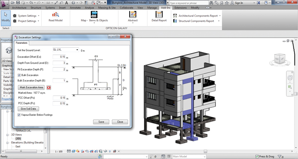 OPTICON Integration With Revit