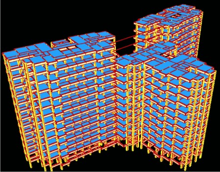 Seismic Analysis and Design Features in STRUDS