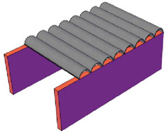 Ferrocement Roofing Channel