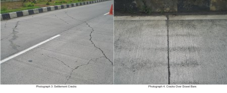 Early Cracking of Concrete Pavement - causes and repairs