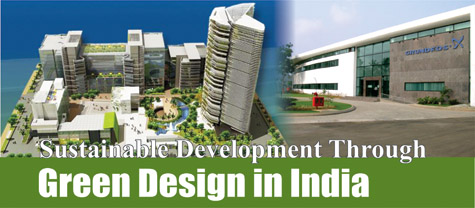 Sustainable Development through Green Design in India