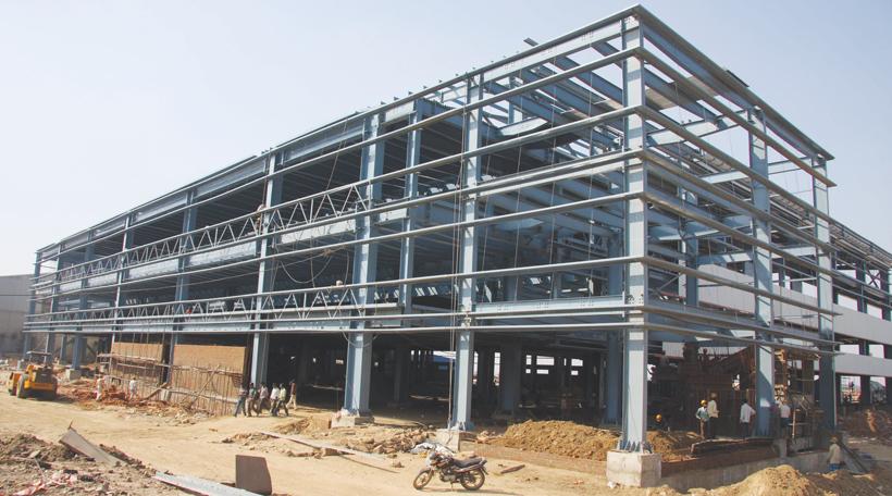 Interarch's PEB building