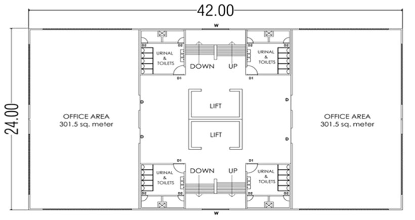 FIG. 2 ARCHITECTURAL LAYOUT