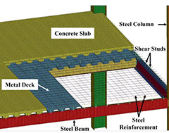 COMPARITIVE STUDY OF G+30 MULTISTOREYED STEEL-CONCRETE COMPOSITE, RCC AND STEEL BUILDING USING TIME HISTORY ANALYSIS