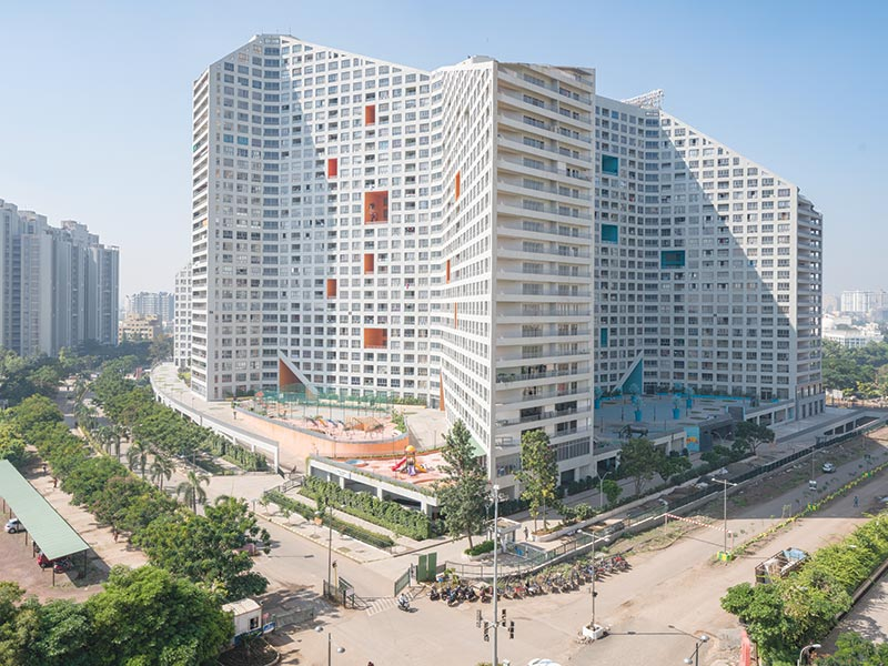 MVRDV completes first project in India, Future Towers, in Pune