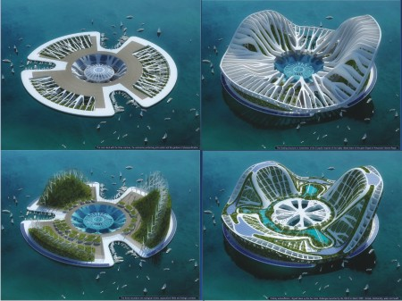 Lilypad a Floating City