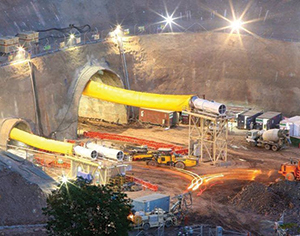 Chennai Nashri Tunnel work