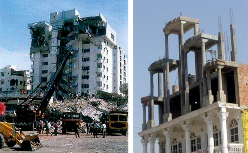 Buildings that are Unsafe in Earthquakes