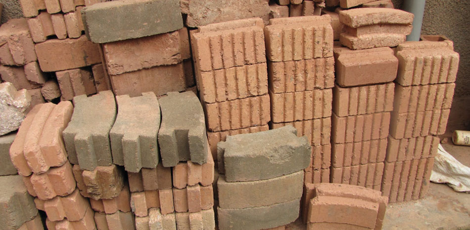 Stabilized and Compressed Laterite Soil Bricks