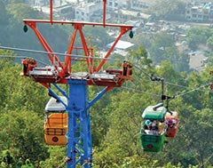 Aerial Rope Transit - (Cable Car) for Public Transport