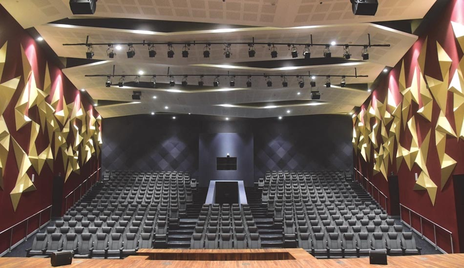 interiors of auditorium