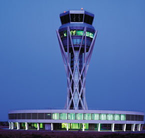 Precast Concrete Airport Control Tower
