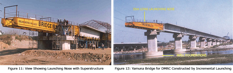 Yamuna Bridge for DMRC