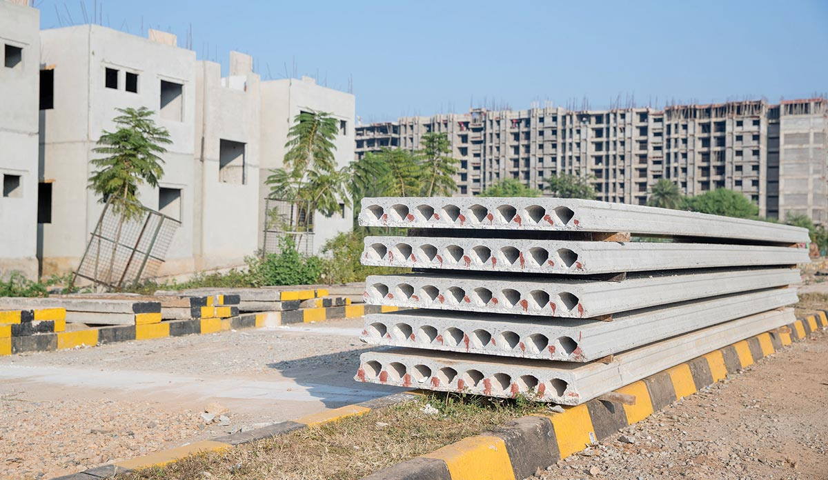 Precast technology - HollowCoreSlabs OnSite India