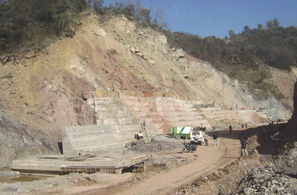 Slope Protection Works