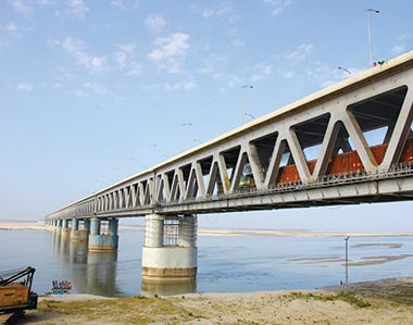 Bogibeel Rail-cum-Road Bridge