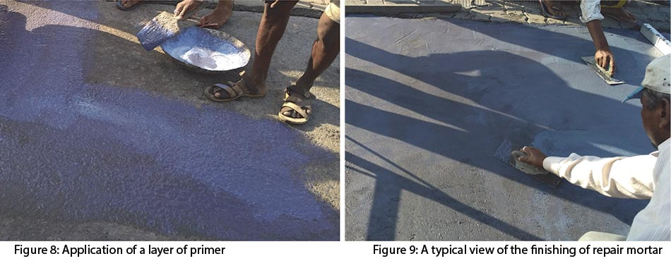 Cement Concrete Pavement F8