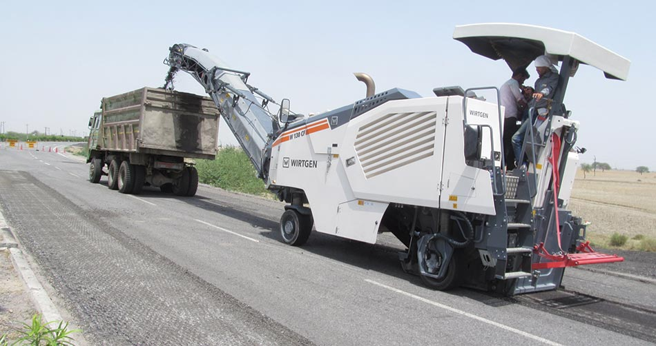 Wirtgen: Cold milling machines have a decisive impact on quality of road  rehabilitation