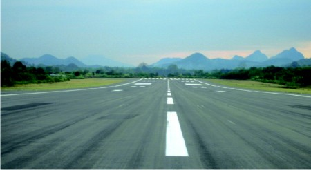 Strength Evaluation of Flexible Pavement of Runway Using  Benkelman Beam Deflection Technique  for Surat Airport Project