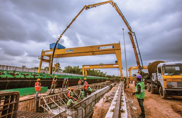 Electromech Kochi Rail Project