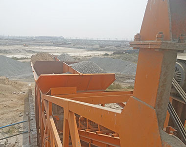 BHAI concrete batch mix plant working at Asia's largest waste-water treatment plant
