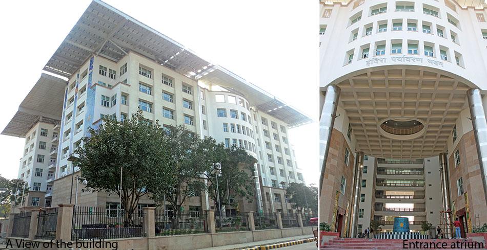Indira Paryavaran Bhawan - First On-site Zero Net Energy Building of