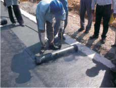 Waterproofing construction material waterproofing membrane