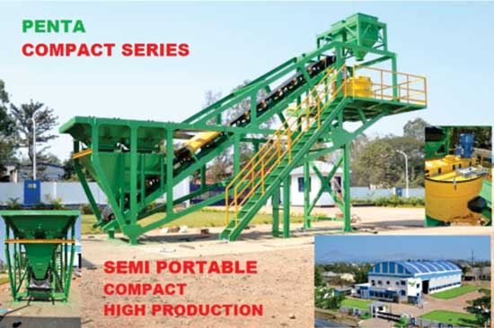 Awersa to Introduce Portable Compact Concrete Plants