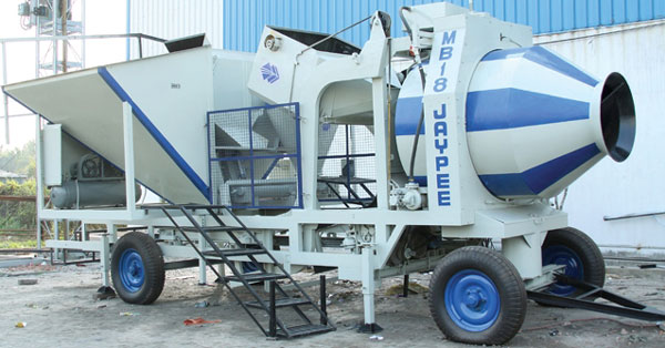 Jaypee's MB18 Automatic Batching Plant